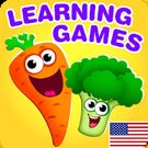 Download hack Funny Food educational games for kids toddlers for Android - MOD Unlocked