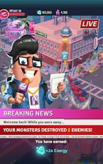 Download hacked I Am Monster: Idle Destruction for Android - MOD Unlimited money