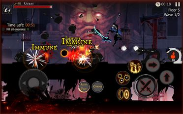 Download hacked Shadow of Death: Dark Knight for Android - MOD Unlocked