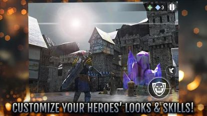 Download hack Heroes and Castles 2 for Android - MOD Money