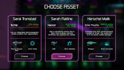Download hack Neon Chrome for Android - MOD Unlimited money