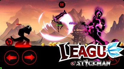 Download hack League of Stickman 2019- Ninja Arena PVP(Dreamsky) for Android - MOD Unlocked