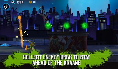 Download hack TMNT: ROOFTOP RUN for Android - MOD Unlimited money