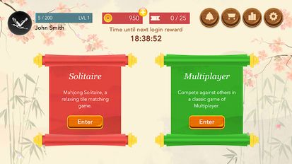 Download hacked Four Sparrows Mahjong for Android - MOD Money