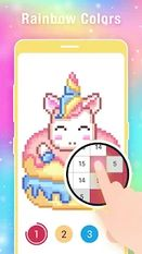 Download hack Pixel Art: Coloring Book Draw Doodle Arts Game for Android - MOD Unlocked