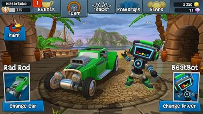 Download hacked Beach Buggy Racing 2 for Android - MOD Unlocked