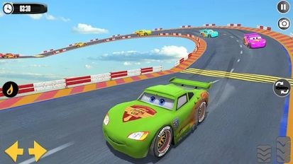 Download hacked Splashy Superhero Vertigo racing : lightning car for Android - MOD Unlocked