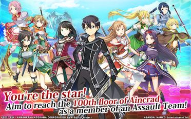 Download hacked Sword Art Online: Integral Factor for Android - MOD Unlimited money
