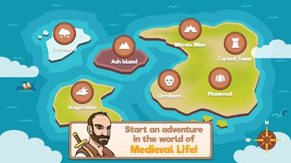 Download hack Medieval Life for Android - MOD Money