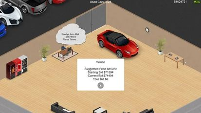 Download hacked Auto Dealership Tycoon for Android - MOD Money