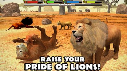 Download hacked Ultimate Lion Simulator for Android - MOD Money
