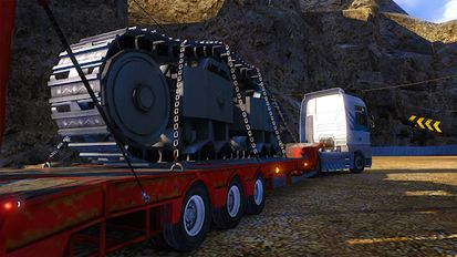 Download hacked Euro Truck Simulator Offroad Cargo Transport PRO for Android - MOD Unlimited money