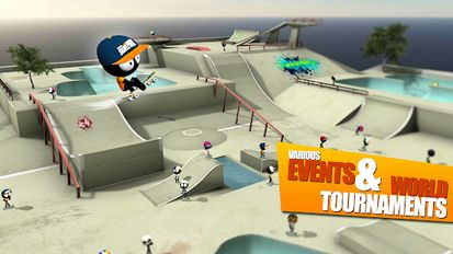 Download hacked Stickman Skate Battle for Android - MOD Unlimited money