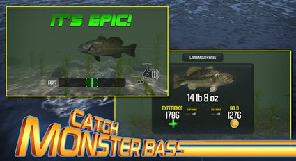 Download hack Master Bass Angler: Free Fishing Game for Android - MOD Money