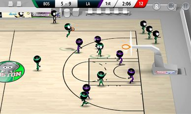 Download hacked Stickman Basketball 2017 for Android - MOD Money