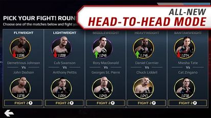 Download hack EA SPORTS UFC® for Android - MOD Unlimited money