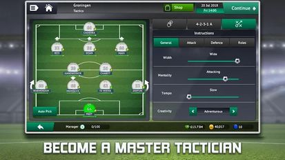 Download hack Soccer Manager 2019 for Android - MOD Unlocked