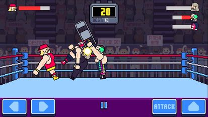 Download hack Rowdy Wrestling for Android - MOD Unlimited money