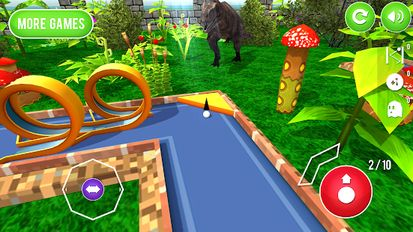 Download hack Mini Golf: Jurassic for Android - MOD Unlocked