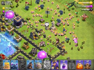 Download hacked Clash of Clans for Android - MOD Unlocked