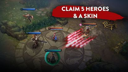 Download hack Vainglory for Android - MOD Unlimited money