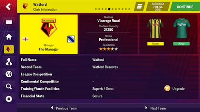 Download hack Football Manager 2019 Mobile for Android - MOD Money