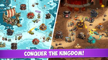 Download hack Kingdom Rush Vengeance for Android - MOD Money