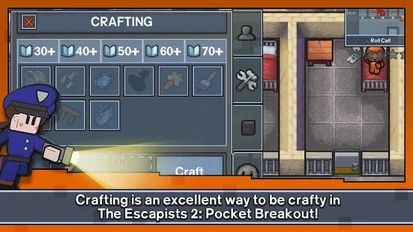 Download hack The Escapists 2: Pocket Breakout for Android - MOD Unlimited money