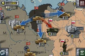 Download hacked European War 2 for Android - MOD Money