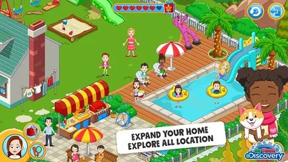 Download hacked My Town : Discovery for Android - MOD Unlocked
