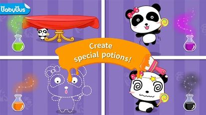 Download hack Baby Panda's Color Mixing Studio for Android - MOD Unlocked