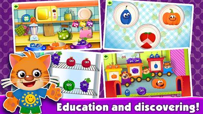 Download hacked FunnyFood Kindergarten learning games for toddlers for Android - MOD Unlocked